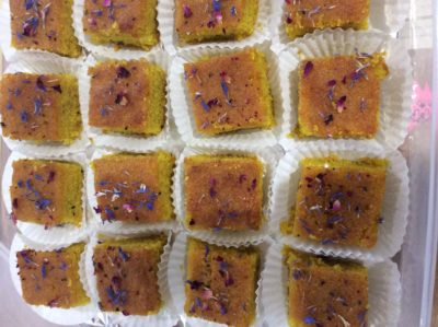 Syrian Turmeric Cake